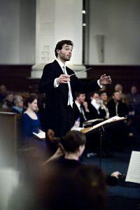Københavns Kantatekors dirigent Torben H.S. Svendsen