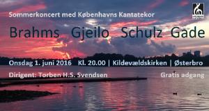 Sommerkoncert Kantatekoret 2016