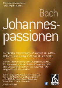Bach Johannes-Passion med Københavns Kantatekor 2013