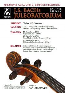 Bach Juleoratorium med Københavns Kantatekor 2010