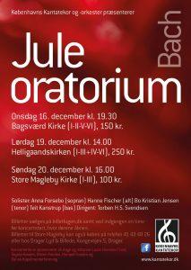 Bach Juleoratorium med Københavns Kantatekor 2015