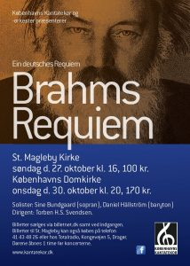 Brahms Ein deutsches Requiem med Københavns Kantatekor 2013