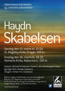 Haydn Skabelsen Kantatekoret 2016