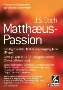 Bach Matthæus-Passion 2017