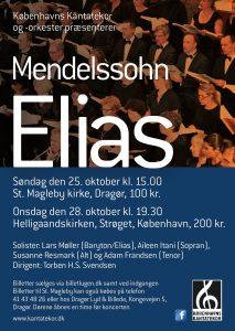 Mendelssohn Elias med Københavns Kantatekor 2015