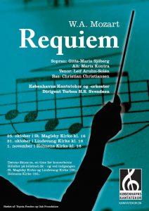 Mozart Requiem med Københavns Kantatekor 2009