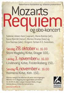 Mozart Requiem med Københavns Kantatekor 2012