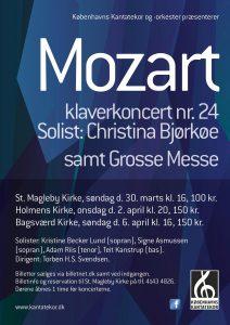 Mozart Grosse Messe med Københavns Kantatekor 2014
