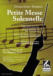Rossini Petite Messe Solennelle med Københavns Kantatekor 2009