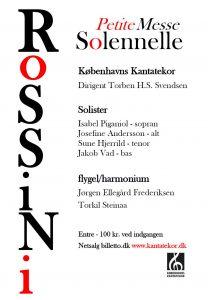 Rossini Petite Messe Solennelle med Københavns Kantatekor 2013