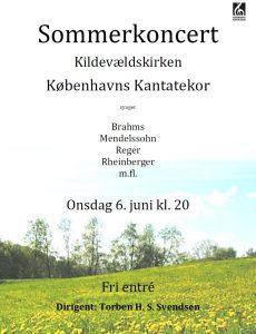 Sommerkoncert med Københavns Kantatekor 2012