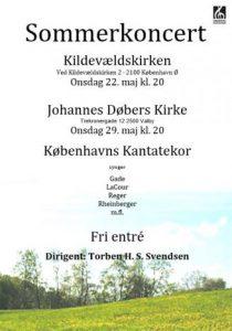 Sommerkoncert med Københavns Kantatekor 2013