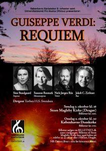 Verdi Requiem med Københavns Kantatekor 2011