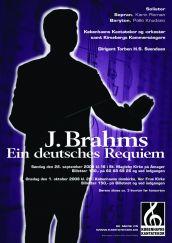 Brahms Requiem med Københavns Kantatekor 2008
