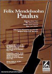 Mendelssohn Paulus med Københavns Kantatekor 2009