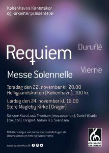 Duruflé Requiem med Københavns Kantatekor