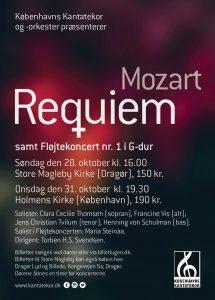 Mozart Requiem Københavns Kantatekor 2018