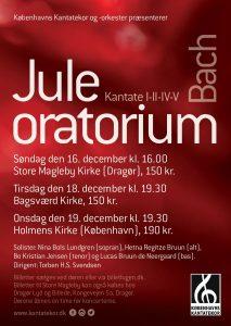 Bach Juleoratorium 2018 med Københavns Kantatekor