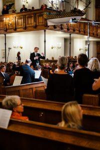 Dirigent Torben H.S. Svendsen Københavns Kantatekor