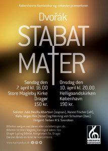 Dvorak Stabat Mater med Københavns Kantatekor 2019