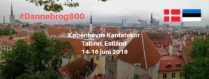 Kantatekoret i Tallinn Dannebrog 800 Estonia 100